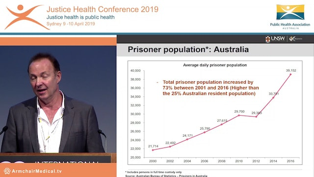 Public health and justice health - reflections and challenges Tony Butler