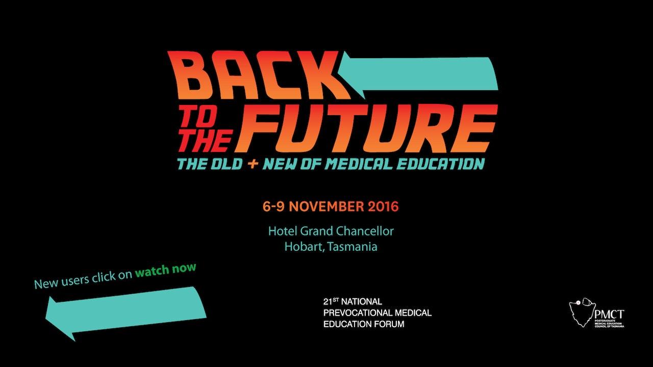 Prevocational Medicine Forum 2016