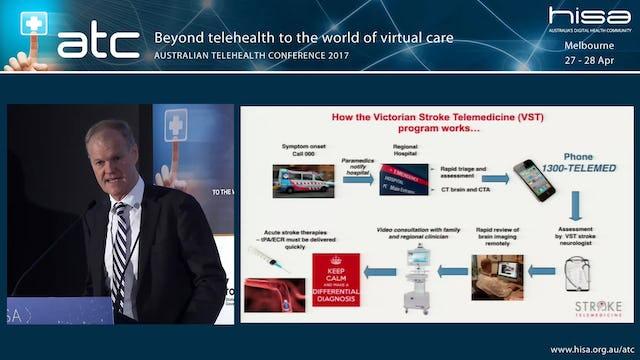 Delivering innovative outcomes in the Victorian Stroke Telemedicine program Dr Chris Bladin