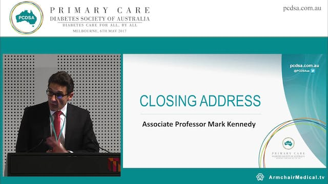 Closing Address Clinical Associate Pr...