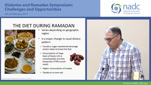 Diabetes and Ramadan Dr Marwan Obaid