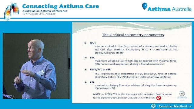 Practicalities and Interpretation of Spirometry Richard Parsons