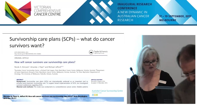Survivorship care plans (SCPs) – what...