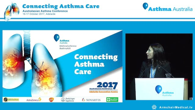 Asthma Australia Excellence Award Recipient Presentations