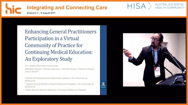 Enhancing general practitioners participation in a virtual community of practice for continuing medical education An exploratory study Abdulaziz Murad