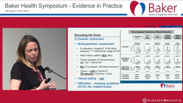 Preclinical Heart Failure Decoding the Echo and deciding what to do Dr Liz Potter