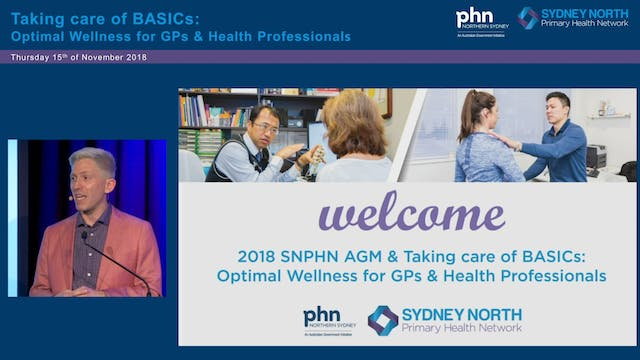 Optimal wellness for GPs and HCPs Ove...