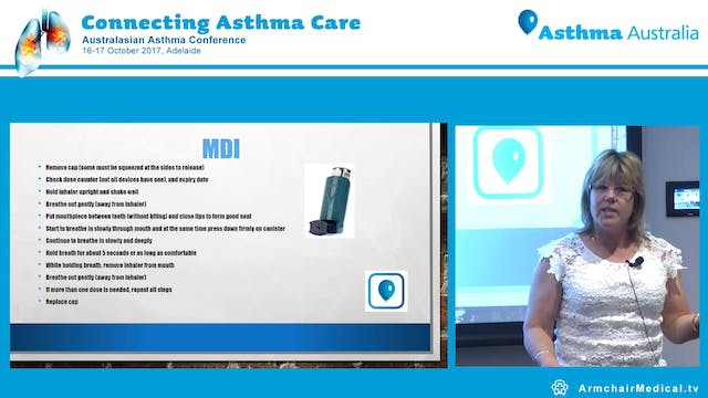Getting to know your asthma devices Ms Karen Pippett