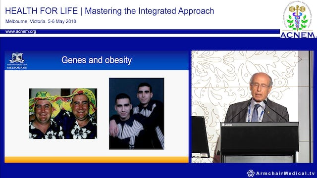 Weight gain over a lifetime Prof Emeritus Joseph Proietto