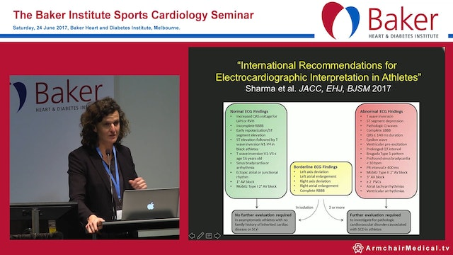 The Athlete's ECG Dr Maria Brosnan