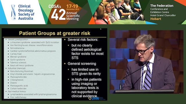 Brian O'Sullivan Clinical management of sarcoma