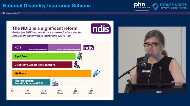 NDIS Information Session for GPs and Health Professionals Monika Tracey & Angela Yee