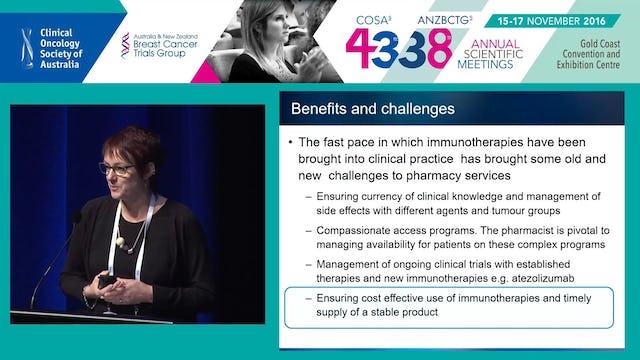 ImmunotherapiesThepharmacist'sperspective ChristineCarrington
