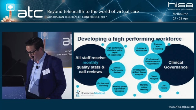 The New Zealand national telehealth service - one year on Andrew Slater