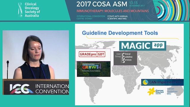 Digital Guidelines - an International Perspective Jutta Thwaites