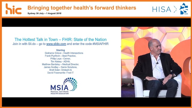 MSIA Engagement Forum The hottest talk in town – FHIR State of the Nation