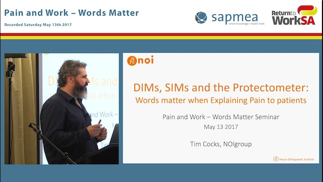 DIMs, SIMs and the Protectometer Word...
