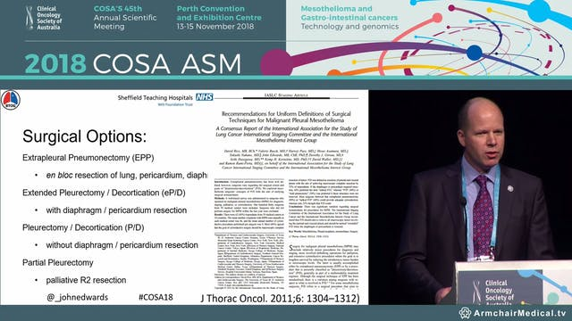 Surgery in pleural mesothelioma – a 2...