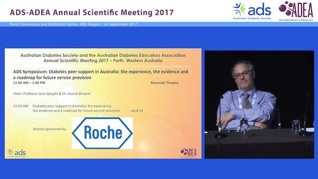 Diabetes peer support in Australia Panel Discussion