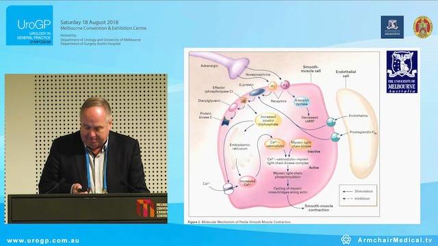 Impotency, Premature ejaculation, Peyronie's disease Dr Michael Chamberlain
