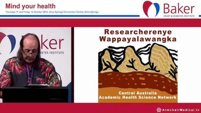 Central Australian Academic Health Network update Chips Mackinolty