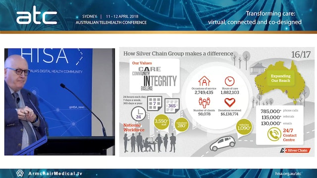 How Silver Chain reformed service delivery in aged and community care, building scale and sustainability AProf Keith Evans Advisor, Public Policy Chief, Silver Chain Group