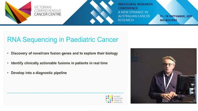 RNA sequencing to find cancer fusion genes and new cancer biology - Assoc Prof Paul Ekert