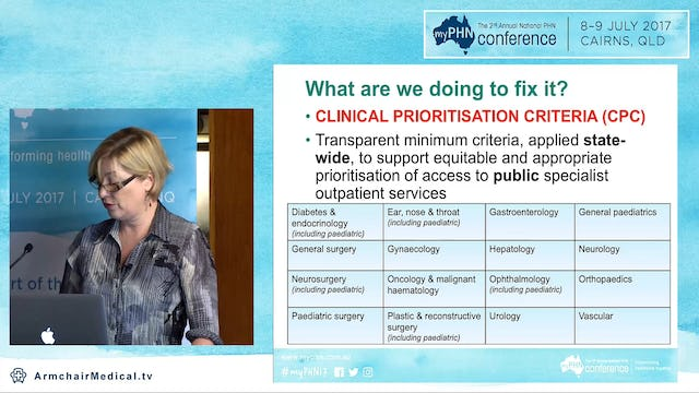 Case for change Standardised access criteria Jody Paxton