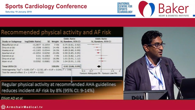 Too little exercise and atrial fibrillation Prash Sanders