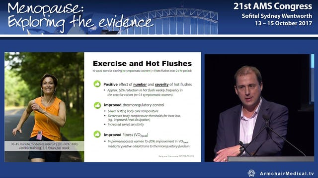 Moving through menopause with exercise An evidence-based approach Prof Robin Daly