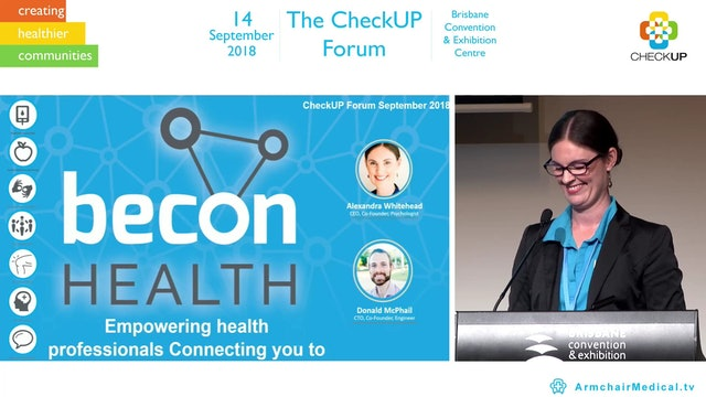 Empowering health professionals connecting to you  Alexandra Whitehead
