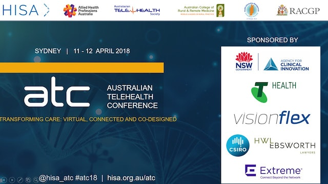 Aust Telehealth Conference 2018