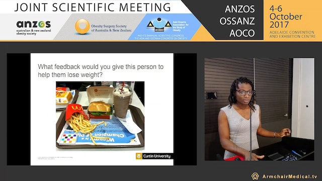 """It's not a healthy meal if it's got a potato"" Qualitative study to inform the development of LiveLighter TODAY - Charlene Shoneye"