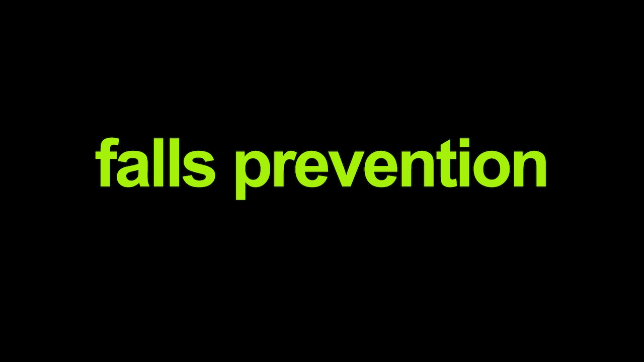 Falls prevention Blurred