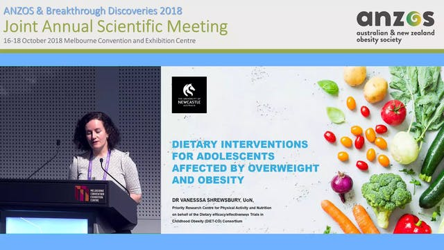 Dietary interventions for adolescents...