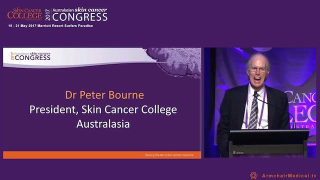 Welcome Dr Peter Bourne