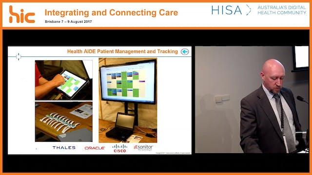 Health AIDE Health analytics and information in the deployed environment Aija Seittenranta, Jay Belton