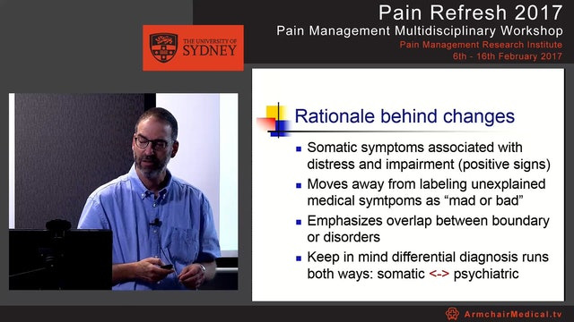 Pain and Mood Dr Andrew Singer