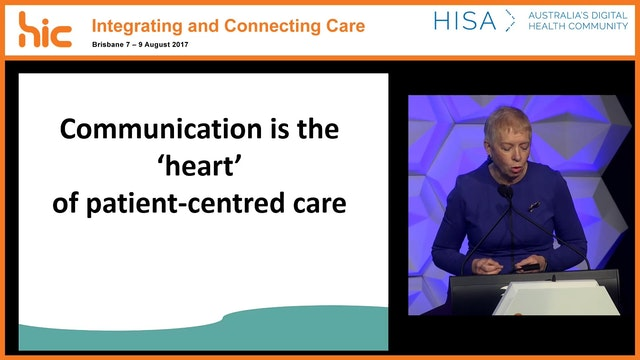 Bridging the communication divide between health professionals and consumers Alana Henderson