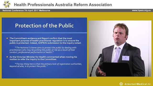 Legislative Council AHPRA report - 2014 David O'Brien