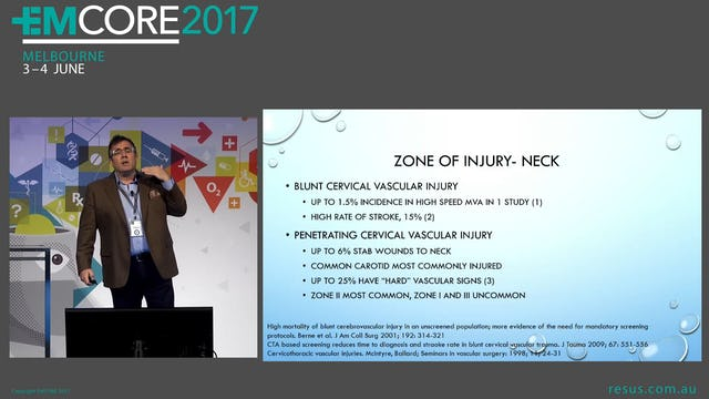 Traumatic Vascular injuries Dr Will Davies Emergency Physician