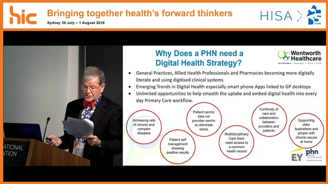 Nepean Blue Mountains PHN Development of a digital health strategy to enable a connected primary care workforce, with a vision of supporting better health in the region Paul Campbell