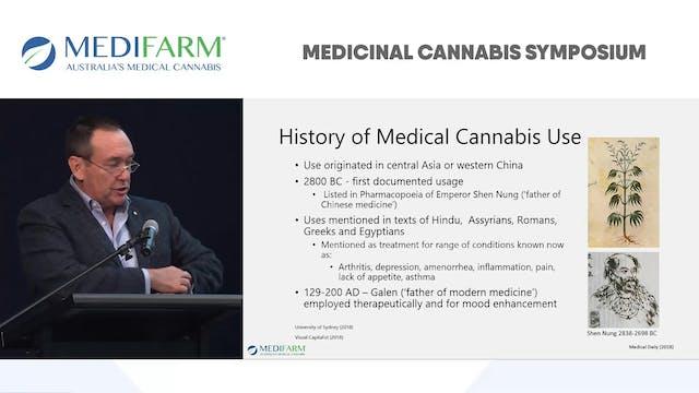 Status of Medical Cannabis in 2018 Prof Jeff Dunn AO - MEDIFARM Advisor