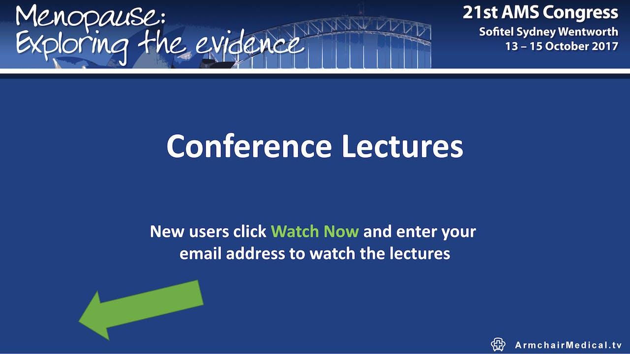 Australian Menopause Society Congress 2017