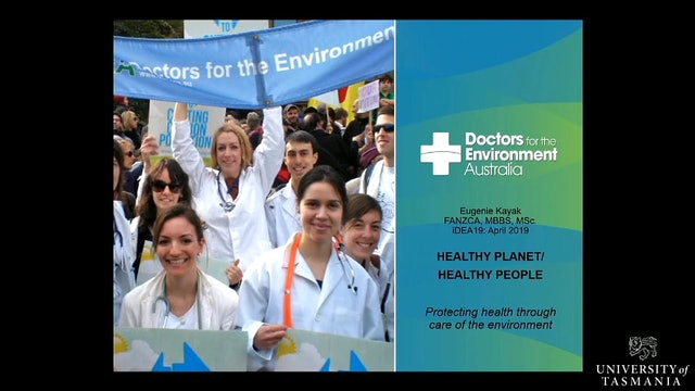 Doctors for the environment Eugenie Kayak