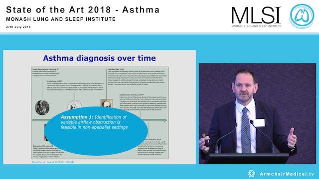 Asthma Treatments Part 1 A Case for change Professor Ian Pavord