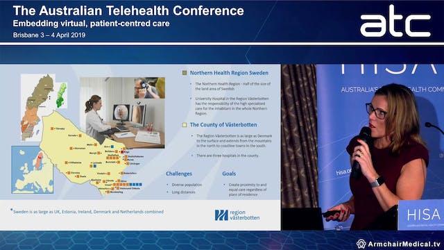 Innovative telehealth clinical work m...
