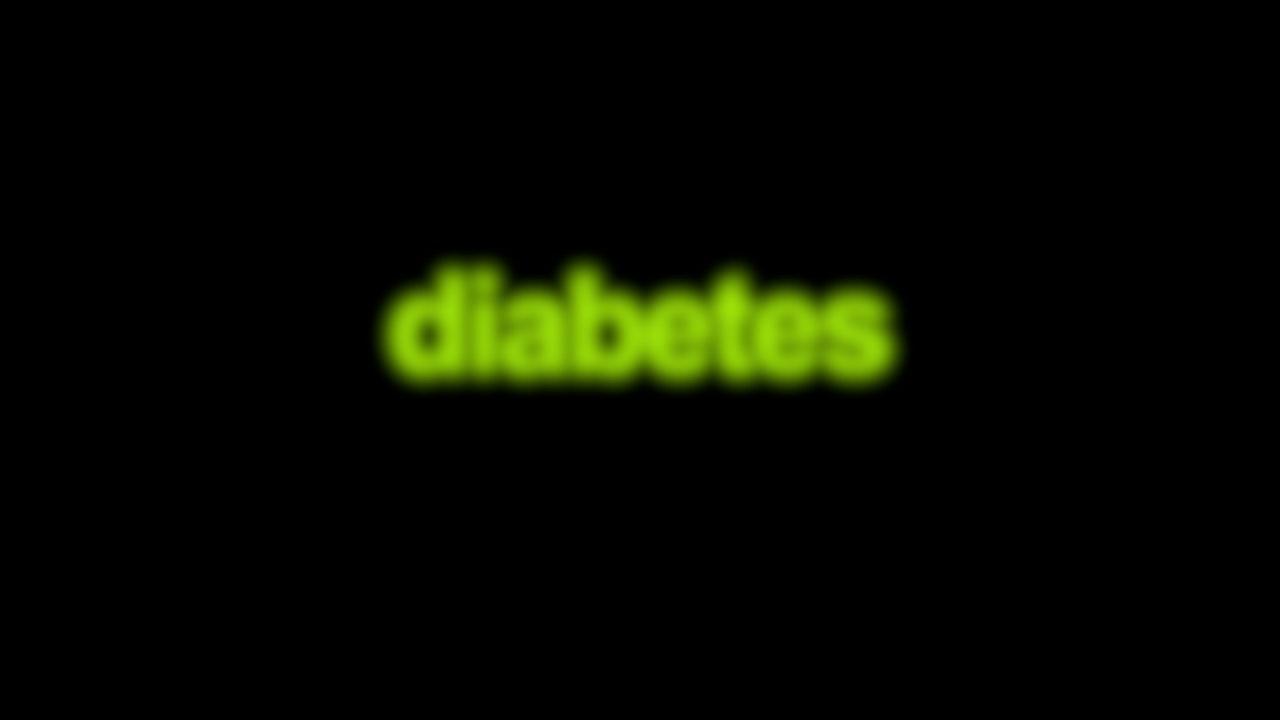 Diabetes Blurred