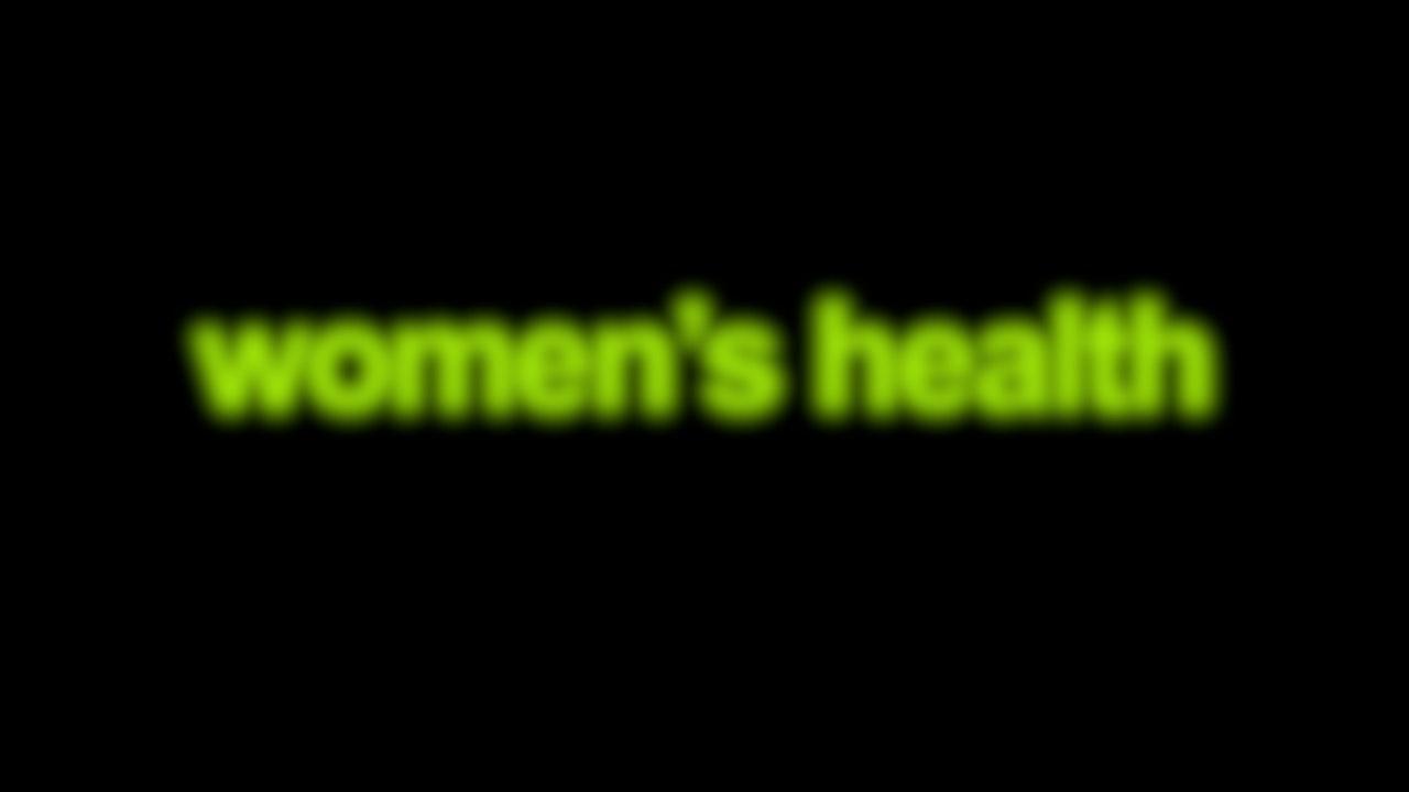Women's Health Blurred