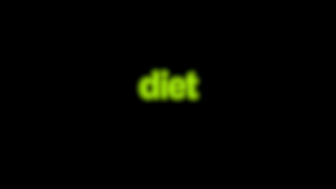 Diet Blurred